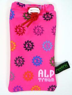 Handybag Zahnrad Pink