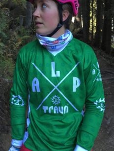 Freeride Trikot Langarm Adventure Green