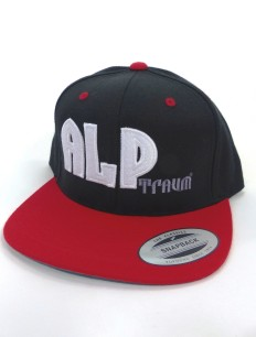Snapback Cap Skate Black Red