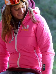 Woman Primaloft Jacke Pink