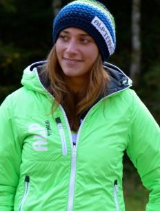 Woman Primaloft Jacke Green Navy