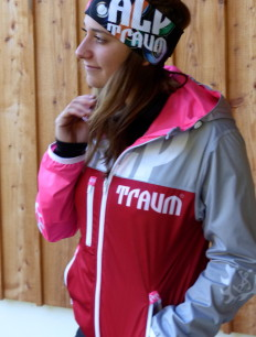 Funktionsjacke Freeride Red Pink