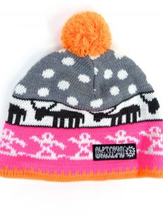 Beanie Alpland Pink Orange