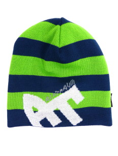 Beanie Blockstripe Sock Navy Green