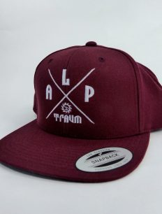 Snapback Cap Adventure Bordeaux