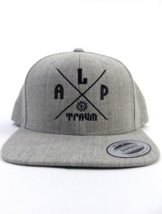 Snapback Cap Adventure Grey