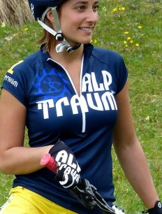Women Trikot Trail Navy