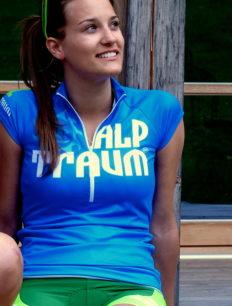 Women Trikot Trail Blue