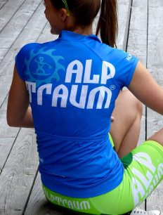 Women Trikot Trail Blue