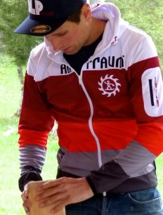 Trek Jacket Red Grey