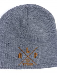 Beanie Basic Adventure Grey