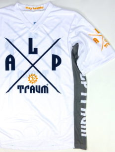 Freeride Trikot Adventure White