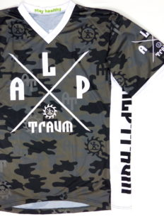 Freeride Trikot Adventure Camo