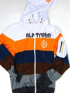 Trek Jacket Brown Orange