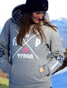 Woman Sweat Adventure Grey