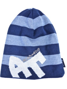 Beanie Blockstripe Sock Navy Grey