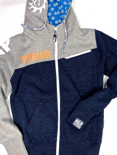 Woman Sweat Hill Navy Grey