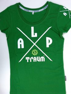 Woman T-Shirt Adventure Green