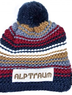 Beanie Joy Phat Navy Bordeaux Beige