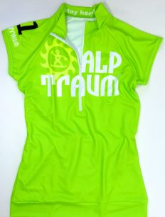 Women Trikot Trail Green