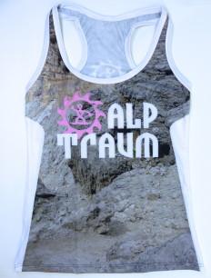 Woman Sporttop Trail Fels Rosa