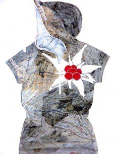 Women Trikot Edelweiß Fels