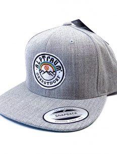 Snapback Cap Oberstdorf Grey