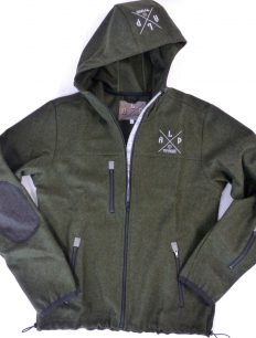 Men Wool Shell Olivegreen
