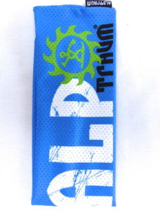 Headband Mesh Skate Blue