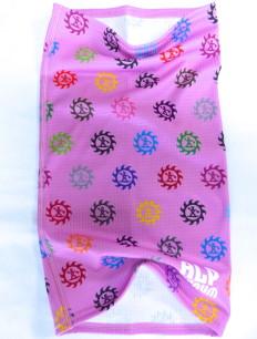 Tubescarf Logo Bunt Pink