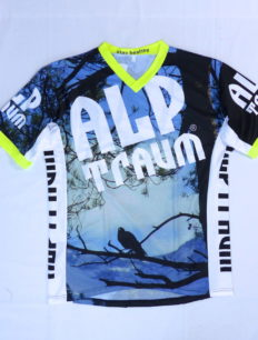 Freeride Trikot Rabe Blue