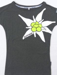 Woman T-Shirt Edelweiß Grey