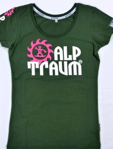 Woman T-Shirt Trail Olive