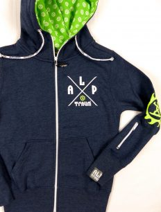 Woman Sweat Adventure Navy Green