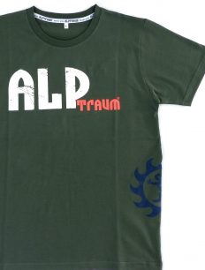 Men T-Shirt Skate Olive