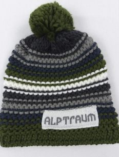 Beanie Joy Phat Olive Navy Grey