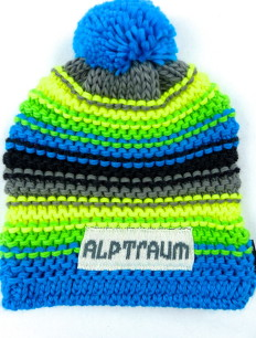 Beanie Joy Phat Blue Green Neon