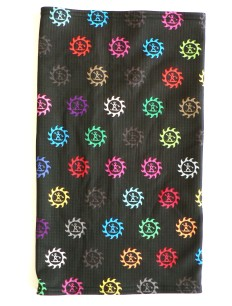 Tubescarf Logo Bunt Black