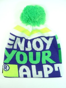 Beanie Enjoy Lila Green