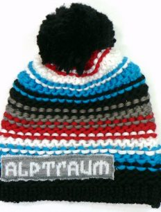 Beanie Joy Phat Black Red Blue