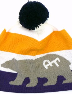 Beanie Bruno Lila Orange