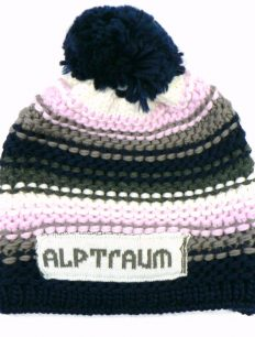 Beanie joy Phat Navy Rosa White