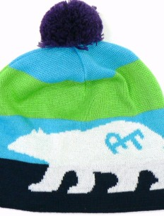 Beanie Bruno Blue Green