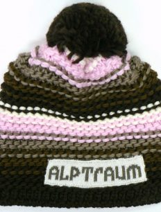 Beanie Joy Phat Brown Rosa