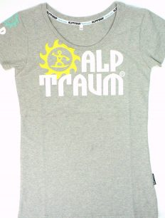 Woman T-Shirt Trail Grey