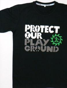 Men T-Shirt Protect Black
