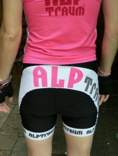 Women Bikehose Skate Black Pink