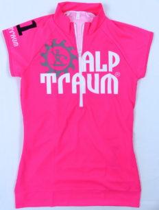 Woman Trikot Kurzarm Trail Pink