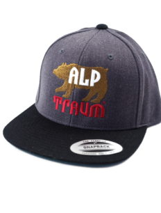 Snapback Cap Bear Grey