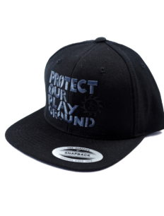 Snapback Cap Protect Black